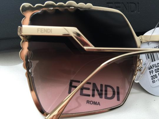 Fendi New 100% FF 0259 oversized square Image 10