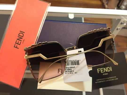 Fendi New 100% FF 0259 oversized square Image 5