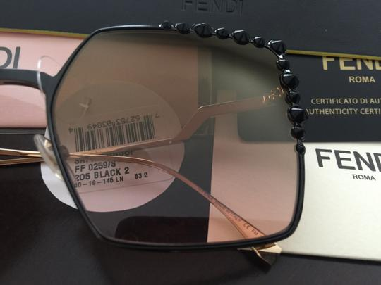Fendi New 100% FF 0259 oversized square Image 8