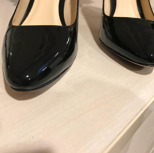Cole Haan Womens Bethany Black Patent Leather Pumps Image 2