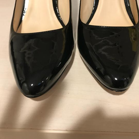 Cole Haan Womens Bethany Black Patent Leather Pumps Image 4