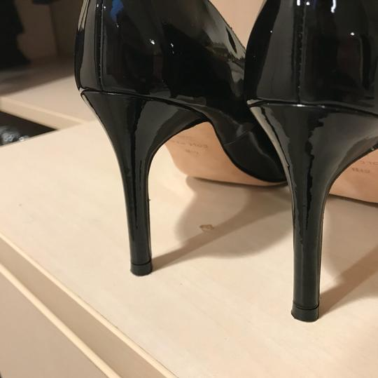 Cole Haan Womens Bethany Black Patent Leather Pumps Image 5