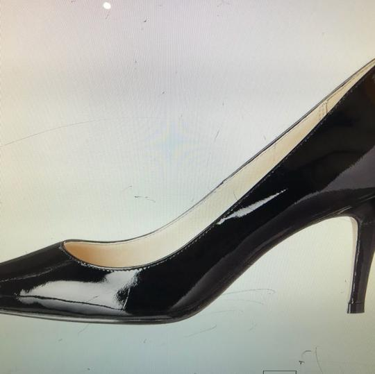 Cole Haan Womens Bethany Black Patent Leather Pumps Image 6