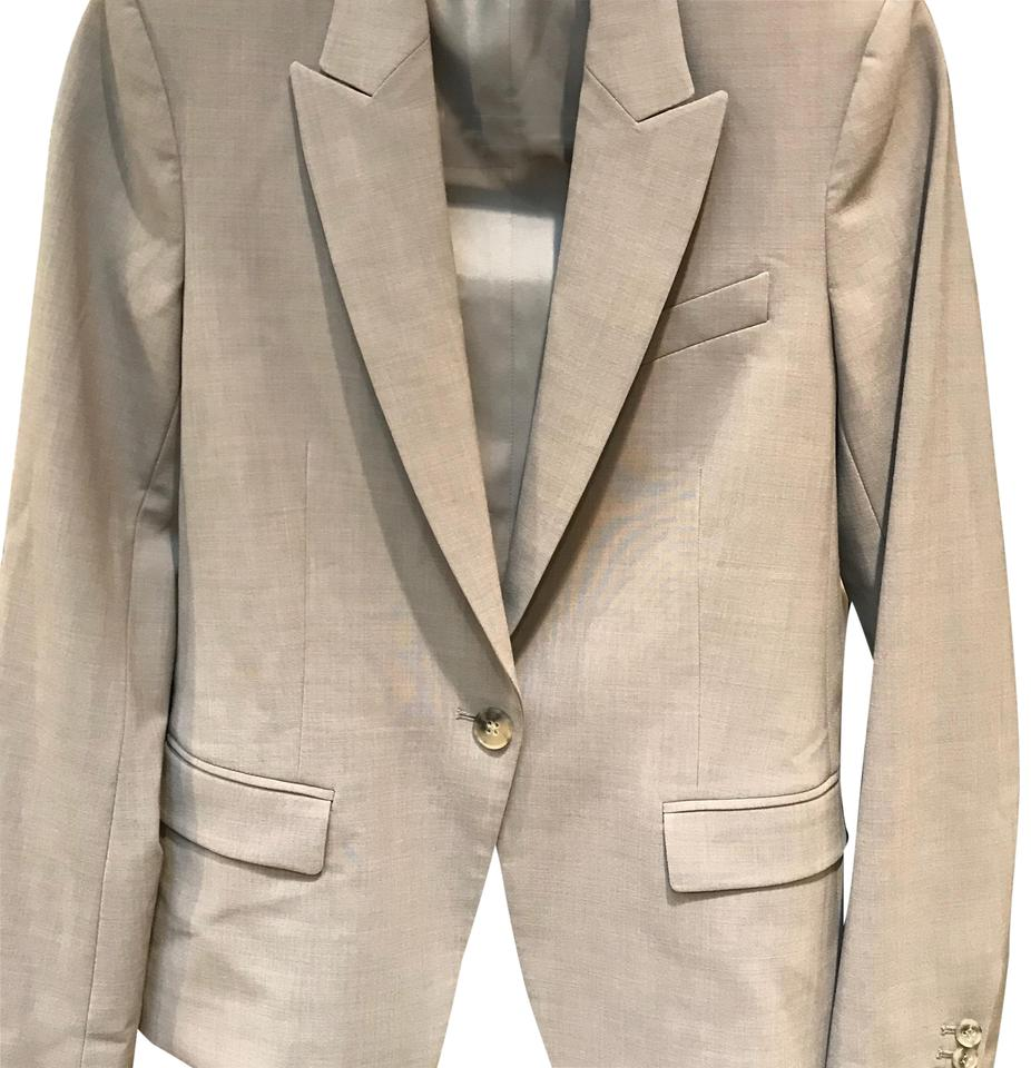 204788cc4e Theory Charcoal/Light Grey Gabe Jacket New No Tags Pant Suit. Size: 4 ...
