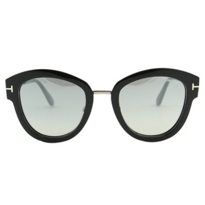 Tom Ford New 2018 Mia-02 Ft0574 Pntos Cat-eye Mirrored Sunglasses