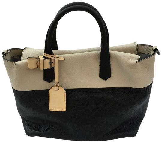 Preload https://img-static.tradesy.com/item/23210760/reed-krakoff-color-gym-black-and-white-leather-satchel-0-1-540-540.jpg
