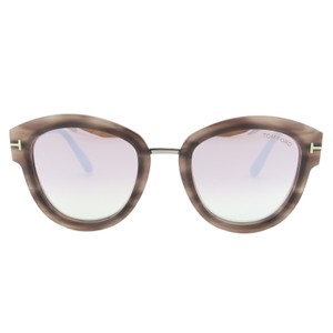 a613b0e5ded Tom Ford New 2018 Mia-02 Ft0574 Women Pink Mirrored Round Sunglasses - item  med