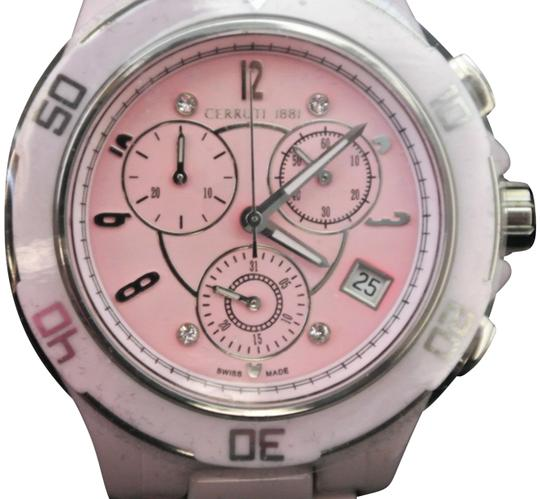 Preload https://img-static.tradesy.com/item/23210797/cerruti-1881-pink-diamond-women-36mm-dial-with-diamonds-high-tec-watch-0-1-540-540.jpg