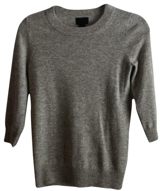 Preload https://img-static.tradesy.com/item/23210802/jcrew-grey-cashmere-sweaterpullover-size-2-xs-0-1-650-650.jpg