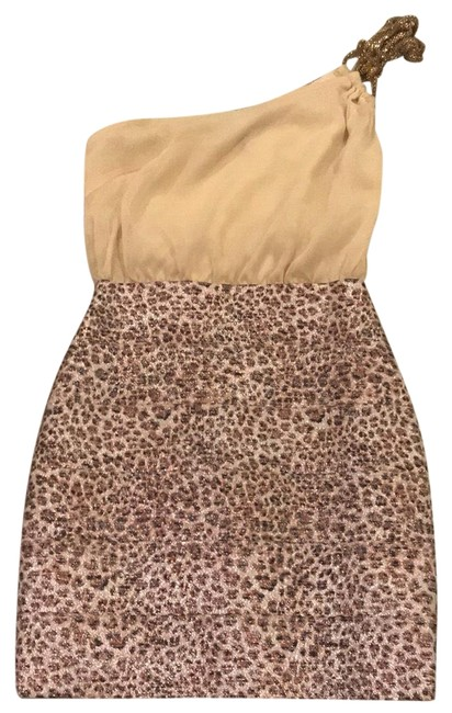 Preload https://img-static.tradesy.com/item/23210892/wow-couture-cream-and-gold-chiffon-bandage-cheetah-bottom-cocktail-dress-size-4-s-0-1-650-650.jpg