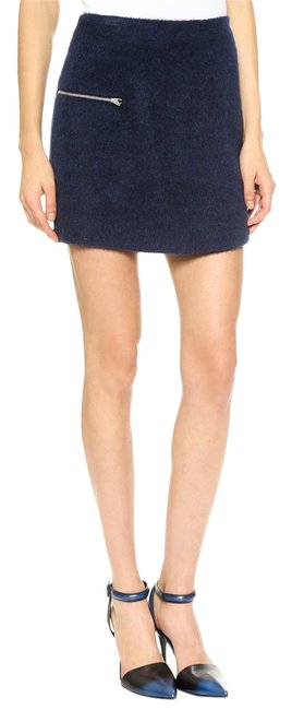 T by Alexander Wang Mini Skirt INK