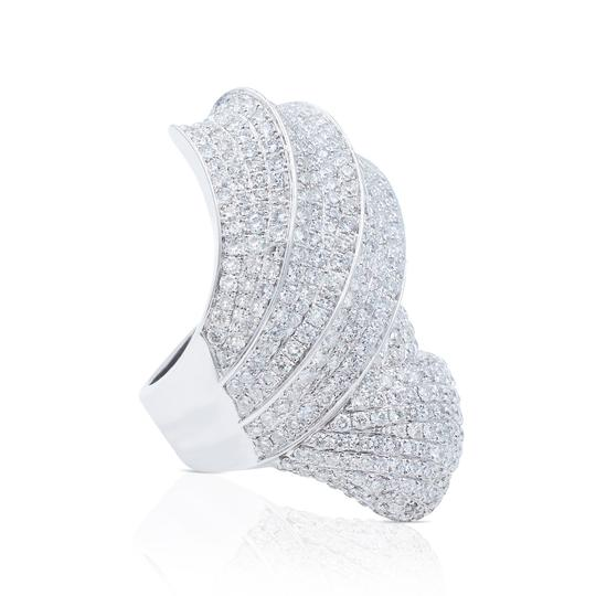 Handmade Large Fashion Cocktail Ring in size 7.5