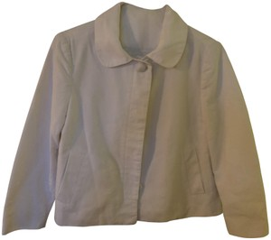 Gap Jacket Swing Jacket Bracelet Sleeve Spring Jacket White Blazer