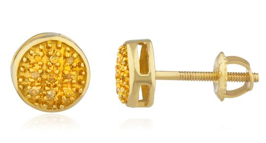 Preload https://img-static.tradesy.com/item/23211047/gold-10k-05ct-yellow-diamond-6mm-round-dome-screw-back-studs-earrings-0-0-540-540.jpg