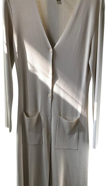Max Studio Beige Button Down with Large Pockets Cardigan Size 12 (L) Image 0
