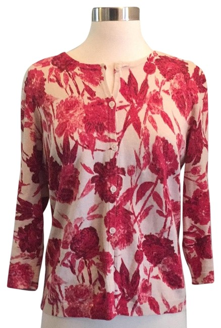 Preload https://img-static.tradesy.com/item/23211124/new-york-and-company-red-floral-cardigan-size-8-m-0-2-650-650.jpg