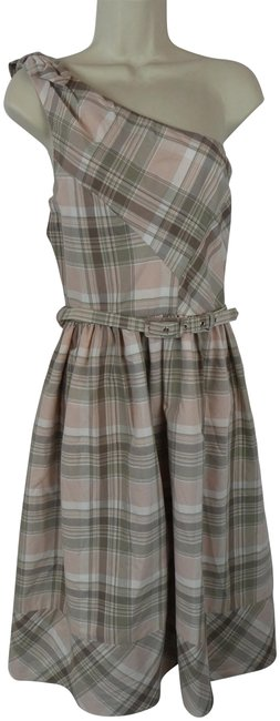 Preload https://img-static.tradesy.com/item/23211193/oleg-cassini-pink-new-lord-and-taylor-brown-plaid-one-short-casual-dress-size-12-l-0-1-650-650.jpg