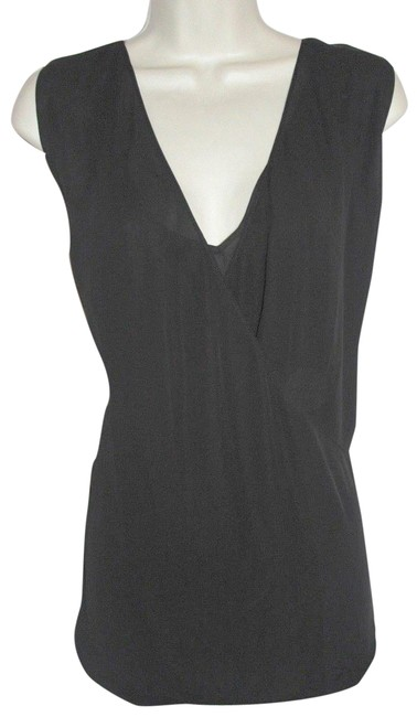Preload https://img-static.tradesy.com/item/23211286/ralph-lauren-black-new-cross-over-blouse-size-12-l-0-1-650-650.jpg