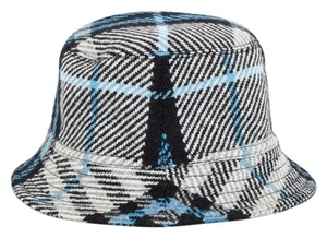 Burberry Woven Plaid Bucket Hat