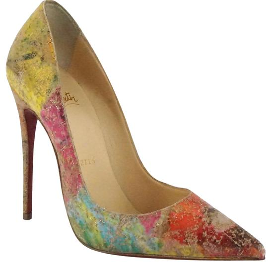 Preload https://img-static.tradesy.com/item/23211367/christian-louboutin-multicolor-so-kate-120-cork-blooming-pointy-toe-pumps-size-eu-345-approx-us-45-r-0-1-540-540.jpg