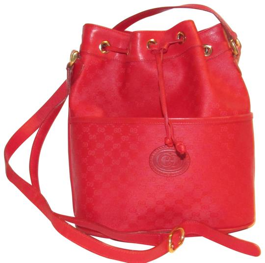 Preload https://img-static.tradesy.com/item/23211425/gucci-vintage-pursesdesigner-purses-red-small-g-logo-print-coated-canvas-and-red-leather-satchel-0-1-540-540.jpg