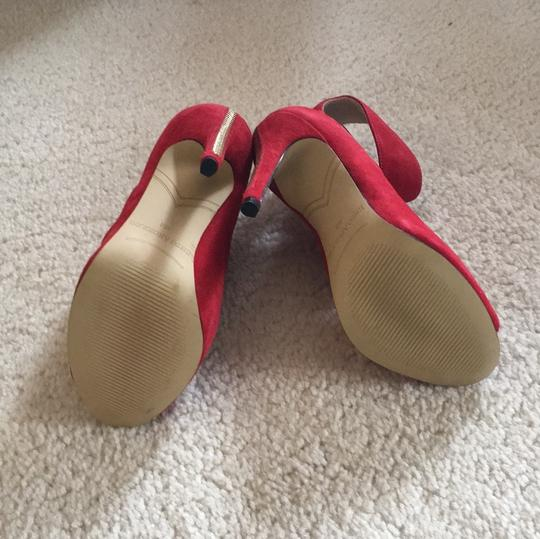 Enzo Angiolini Red Pumps