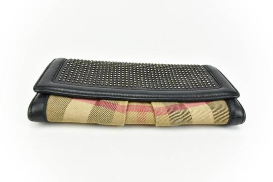 Burberry Leather & Nova Check, (s) Long Continental Wallet