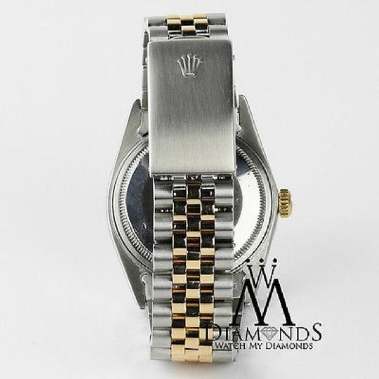 Rolex Rolex Datejust 116233 36mm Mother Of Pearl Diamond Dial 18k/SS Watch