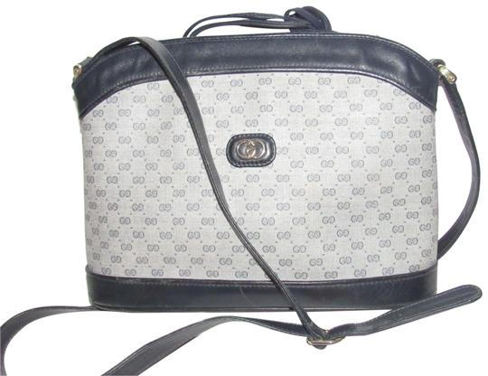 Preload https://img-static.tradesy.com/item/23211574/gucci-vintage-pursesdesigner-purses-navy-blue-leather-and-blue-small-g-print-coated-canvas-satchel-0-1-540-540.jpg