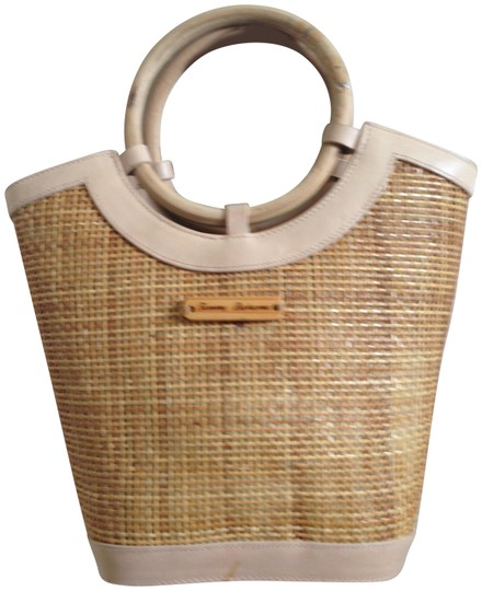 Tommy Bahama Tan Clutch Image 0