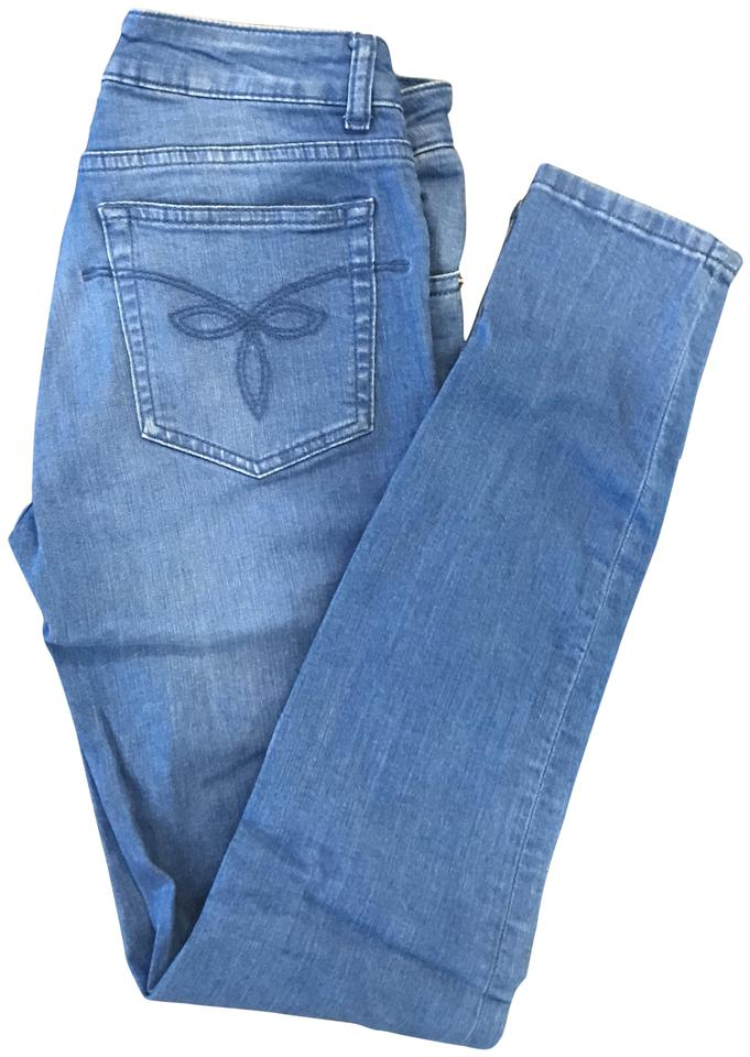 2221eb15f Ted Baker Baby Blue Light Wash Korall Skinny Jeans Size 26 (2