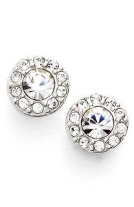 Givenchy Small Crystal clip Earrings