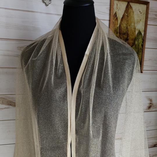 Other Gold Shimmery Mesh Shawl