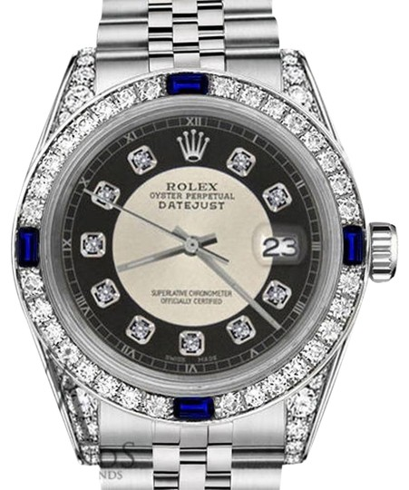 Preload https://img-static.tradesy.com/item/23211647/rolex-women-s-31mm-datejust-silver-tuxedo-dial-sapphire-and-diamond-rt-watch-0-1-540-540.jpg