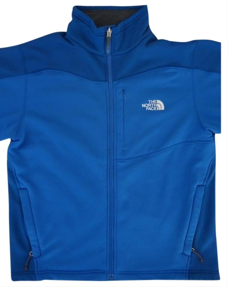 c71911186 The North Face Blue Summit Series Tka Stretch Fleece Activewear Outerwear  Size 14 (L) 64% off retail