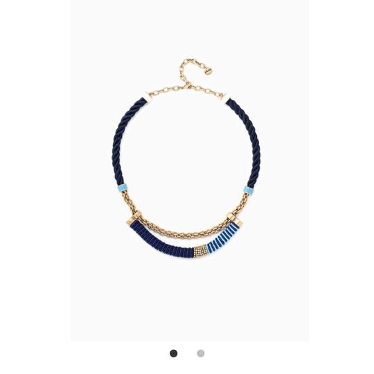 Preload https://img-static.tradesy.com/item/23211706/stella-and-dot-blue-and-gold-marine-necklace-0-0-540-540.jpg
