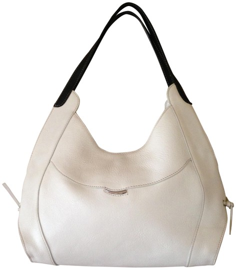 Preload https://img-static.tradesy.com/item/23211707/medium-two-color-whiteblack-leather-hobo-bag-0-1-540-540.jpg