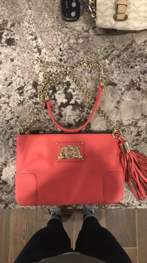 Juicy Couture Nylon Gold Hardware Cross Body Bag