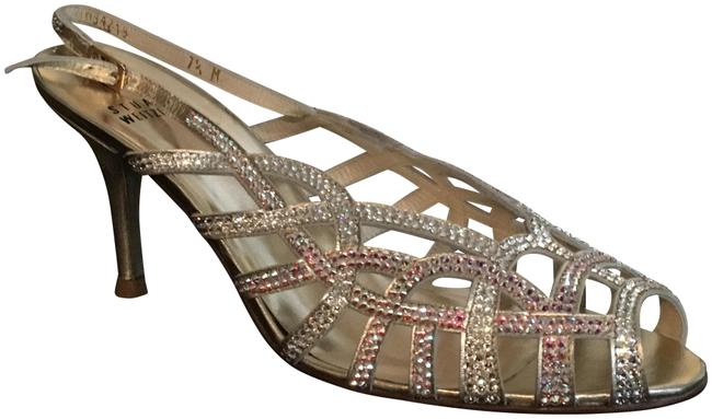 Item - Gold Supple The Pavé Collection Sandals Size US 7.5 Regular (M, B)