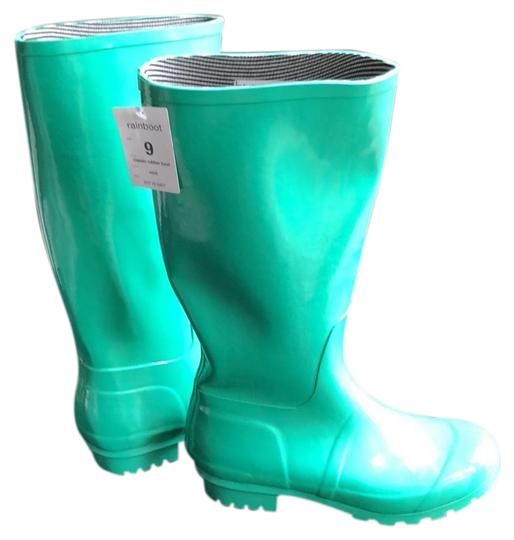 Target Mint Green / Turquoise Boots