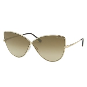 Tom Ford New 2018 Tf Elise-02 Ft0569-28g Women Infinity Butterfly Sunglasses
