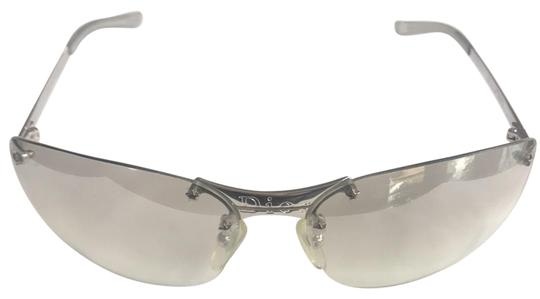 Preload https://img-static.tradesy.com/item/23211857/dior-silver-transparent-pop-sunglasses-0-1-540-540.jpg