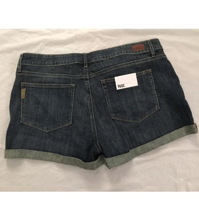 Paige Cut Off Shorts Roscoe Wash Blue