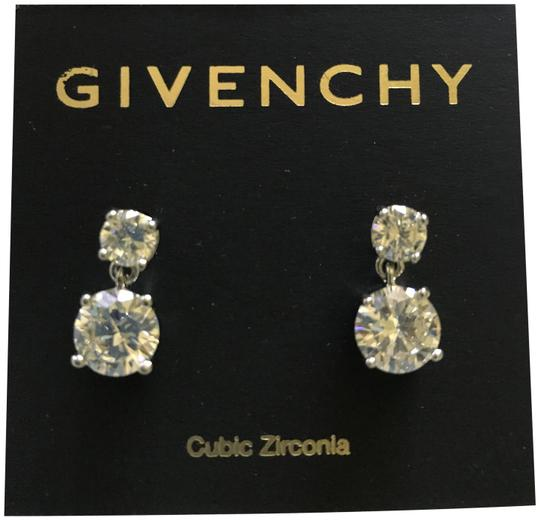 Preload https://img-static.tradesy.com/item/23212004/givenchy-silver-swarovski-crystal-dangle-stud-earrings-0-2-540-540.jpg