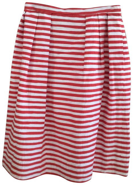 Preload https://img-static.tradesy.com/item/23212025/bill-blass-red-and-white-saks-fifth-avenue-midi-skirt-size-8-m-29-30-0-1-650-650.jpg