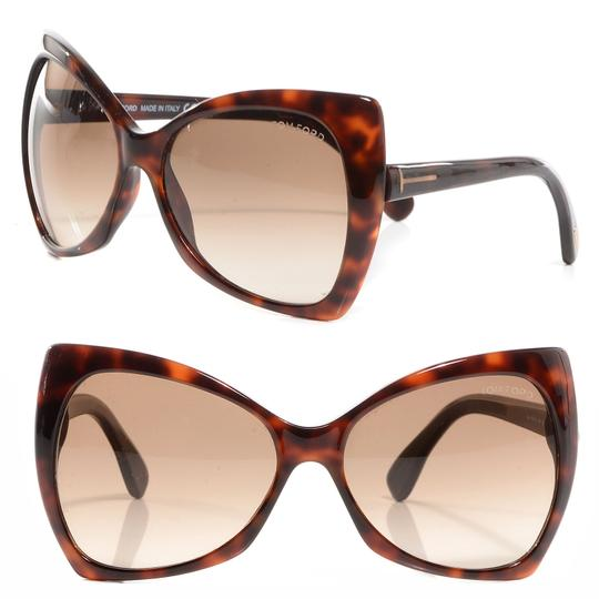 Tom Ford New Tom Ford Nico TF 175 52F Havana/ Pink Sunglasses