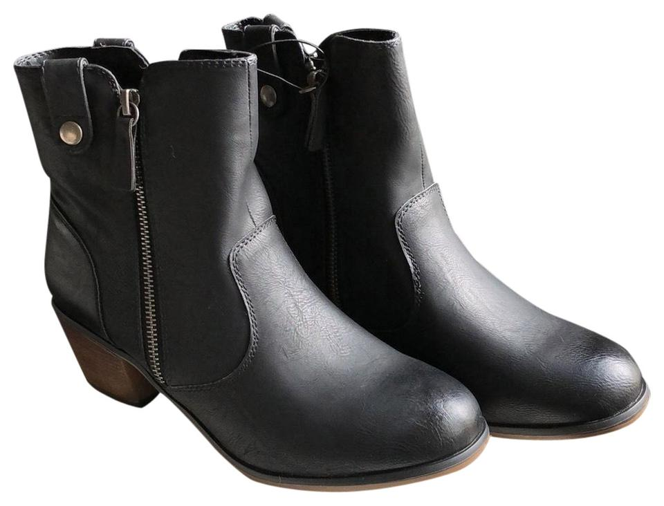 c4ccff5b751d Mossimo Supply Co. Black Char    096101873 Boots Booties. Size  US 8 Regular  (M ...