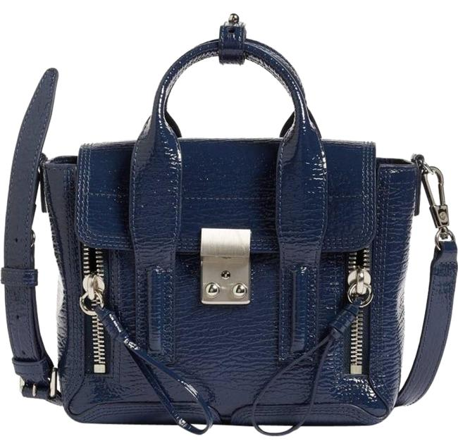 Item - Mini Pashli Blue Patent Leather Shoulder Bag