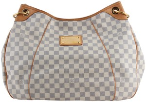 Louis Vuitton Leather Damiar Shoulder Bag