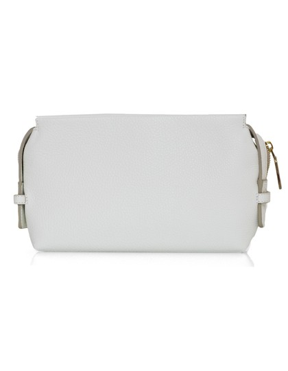 Victoria Beckham Cosmetic Case Small Clutch white Travel Bag